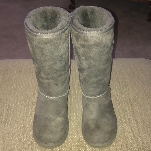 girls grey ugg boots